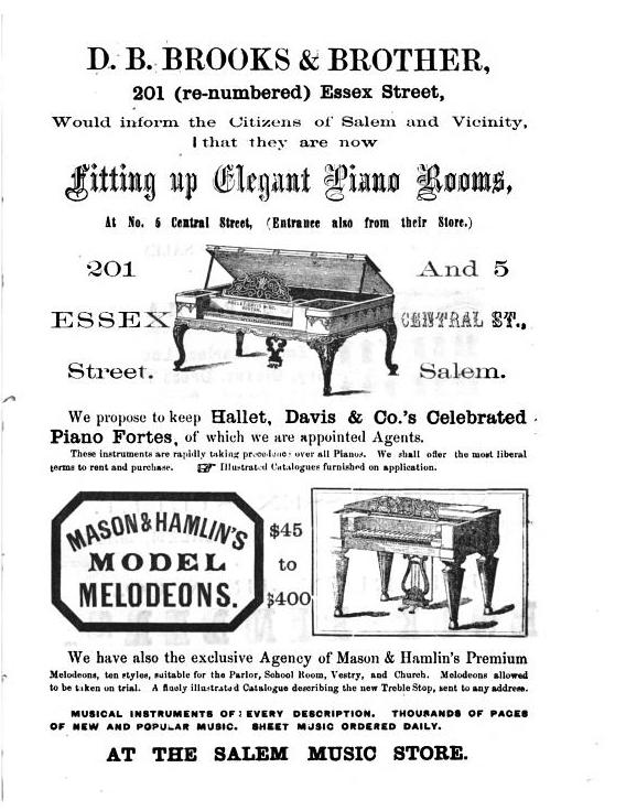 Brooks Advertisement