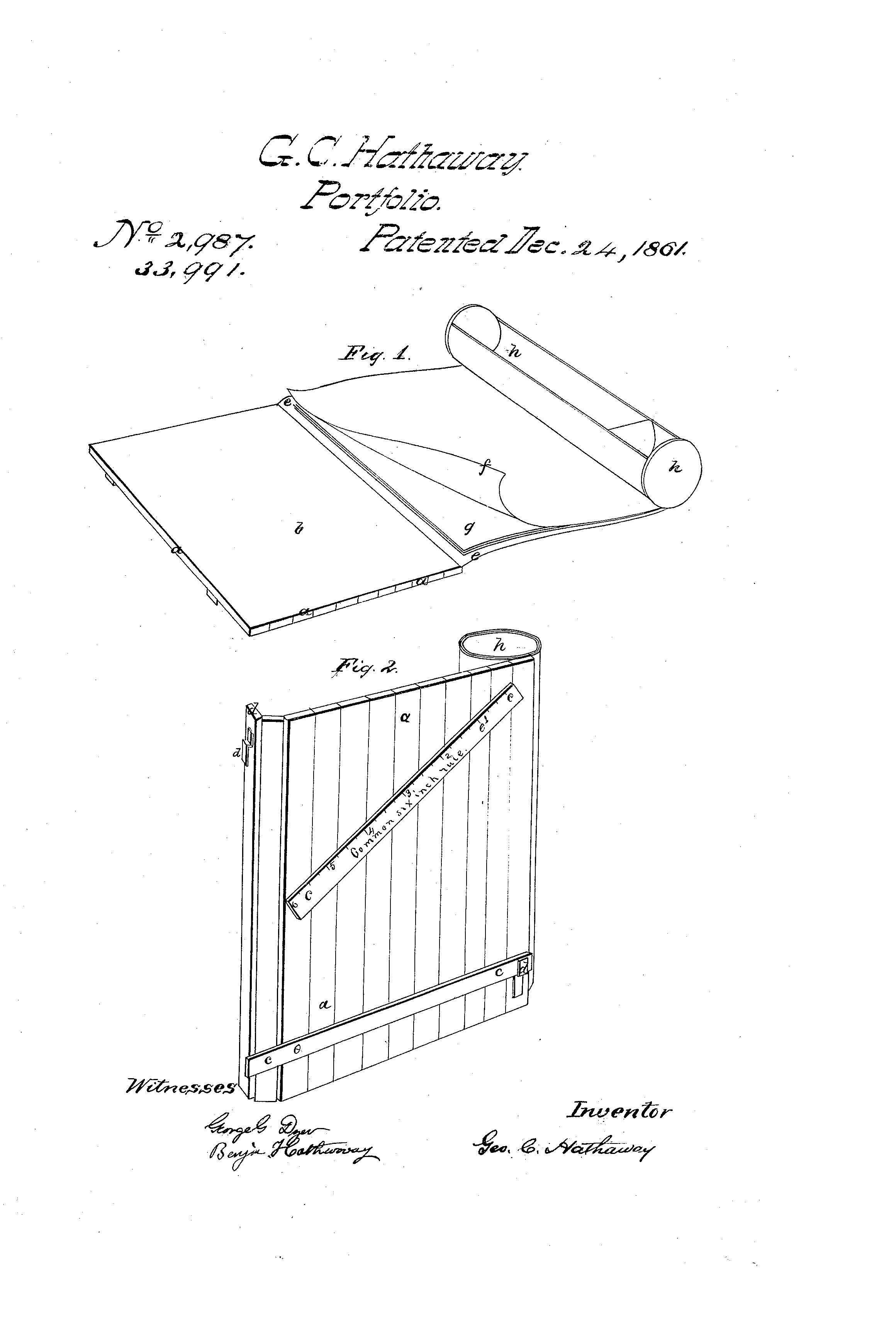 Hathaway Patent Abstract page 1