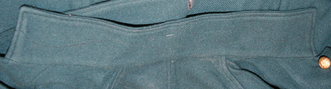 Undercollar interfacing stitching