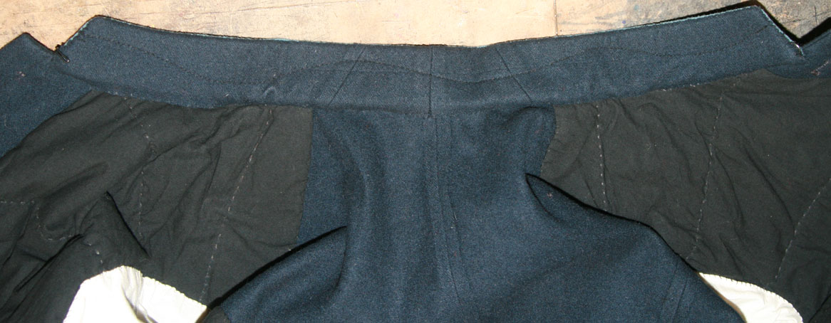 Pieced inner collar