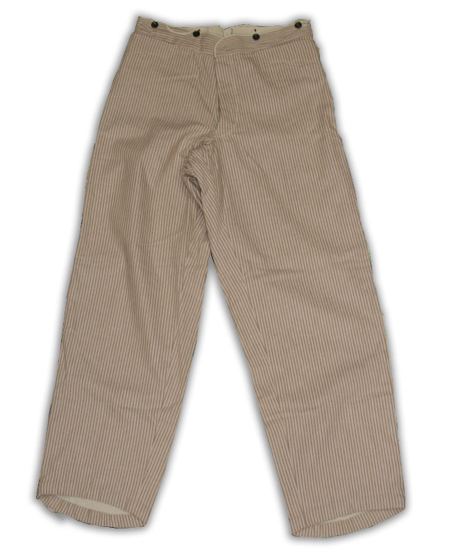 Civilian Trouser Tan Stripe Size 34