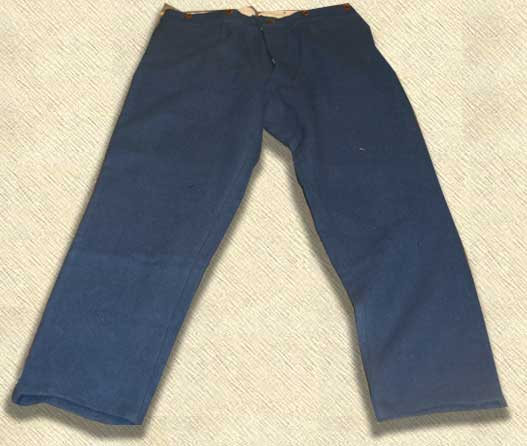 """Richmond Depot"" trousers in Royal Blue Kersey"