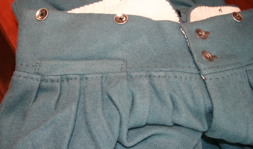 Front waistband area