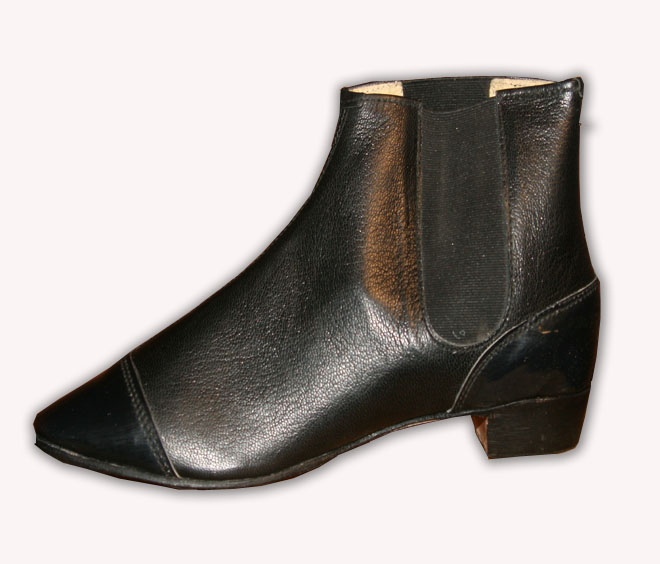 Ladies Leather Congress Gaiters
