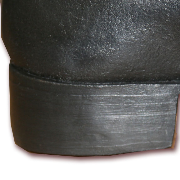 Heel of Lapham shoe