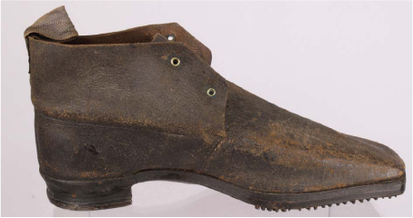 Original British Shoe from Outside