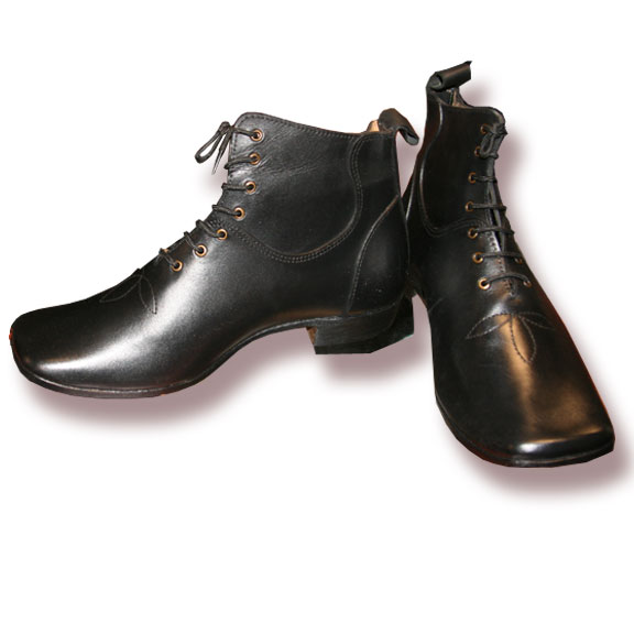 Gentlemen's High Top Lace-up shoe non-stock size