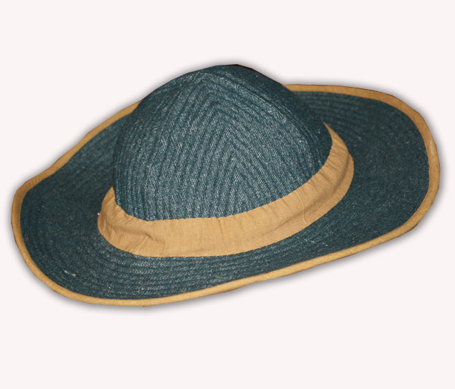 1860's Men's Quilted hat