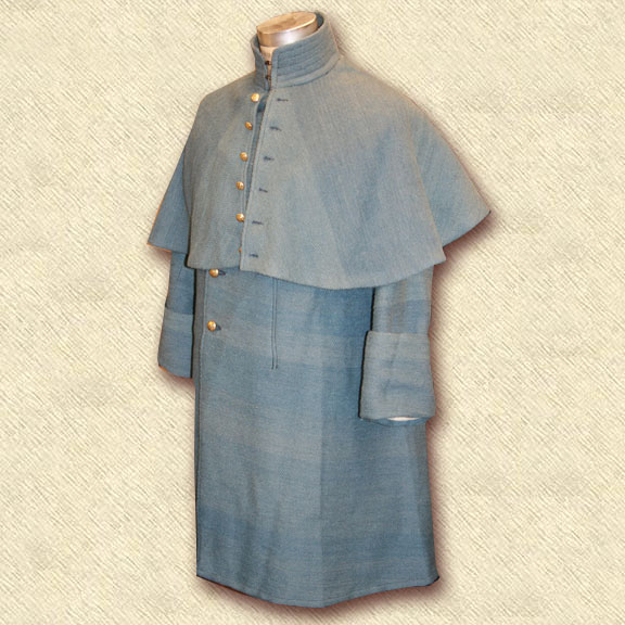 Federal Issue Overcoat in Jeancloth