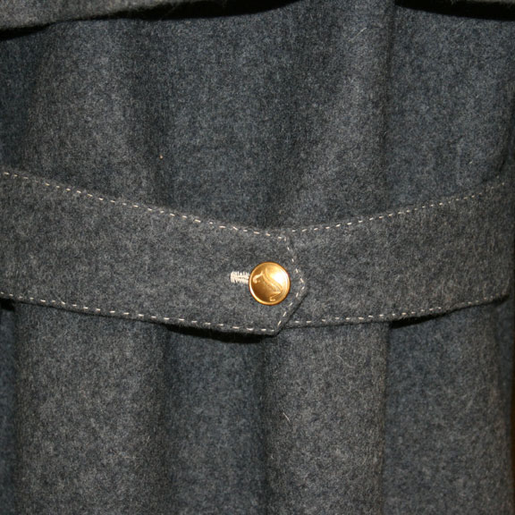 British Overcoat Back Belt