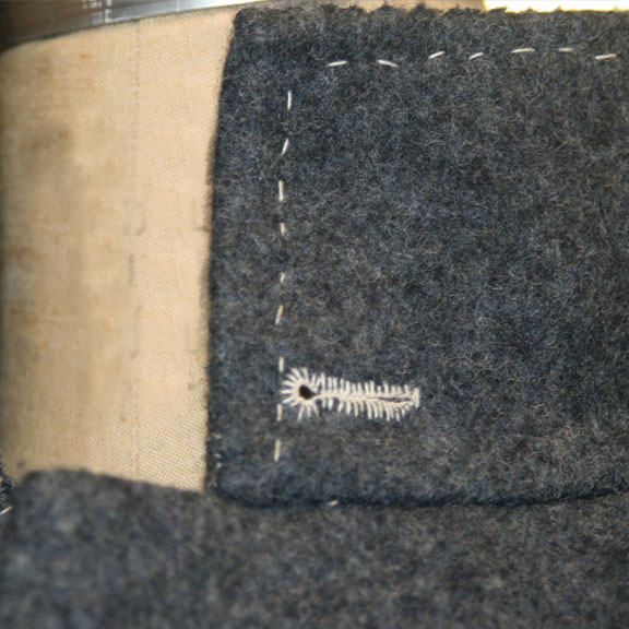 British Overcoat Collar