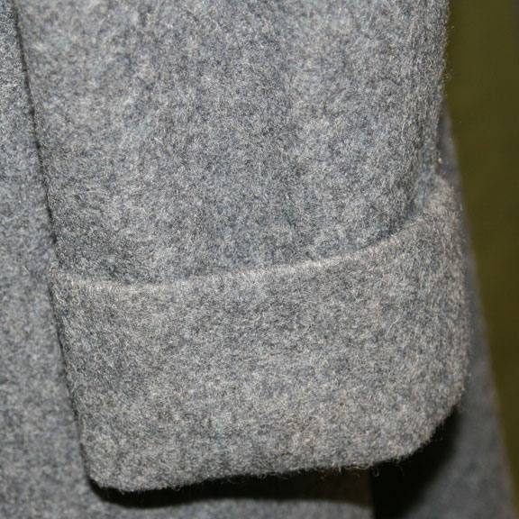 British Overcoat Sleeve Detail