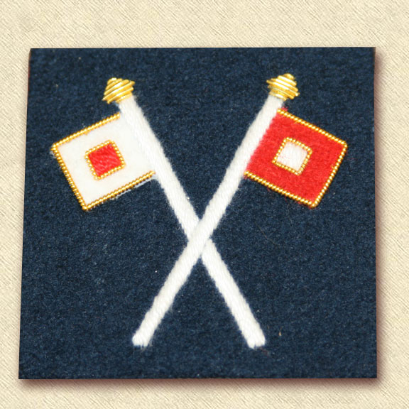 Enlisted Signal Corps Sleeve Insignia
