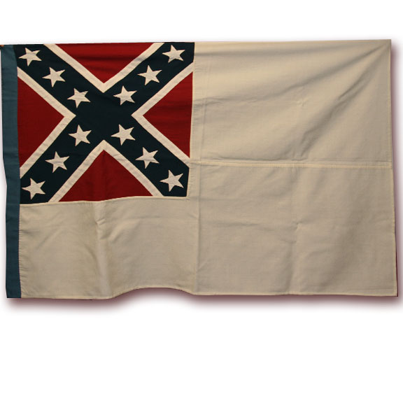 Mobile Depot Second Confederate National Flag