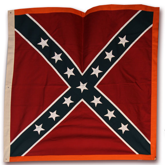 Second Bunting Issue Confederate Flag