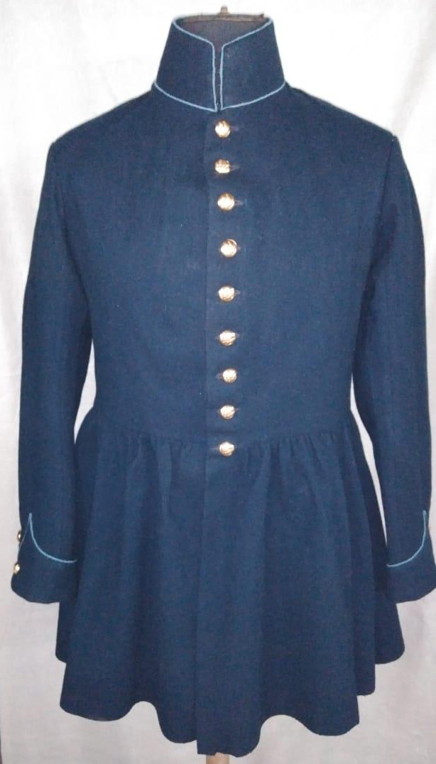 "1855 ""Pleated"" Enlisted frock coat"