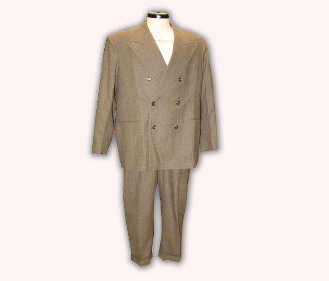 1940's Double Breasted Two Piece Suit
