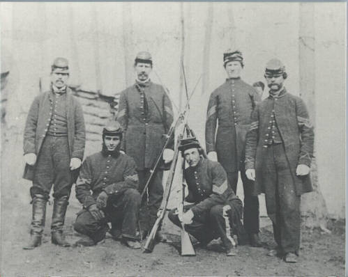 Enlisted Men of the 3rd Michigan