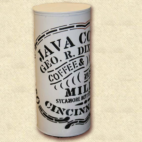 George Dixon Coffee Can