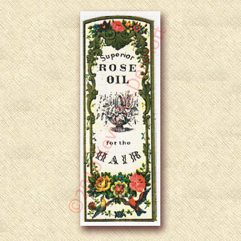 Superior Rose Oil for the Hair