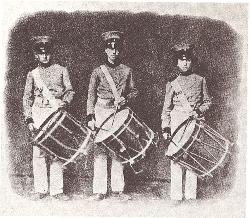 Drummers of the 8th NY 1861