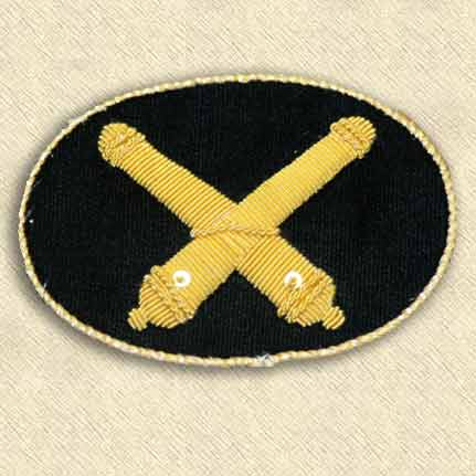 Artillery Officer\'s Hat Insignia