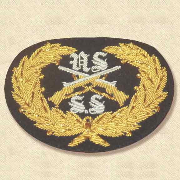 Berdan Officer Hat Insignia