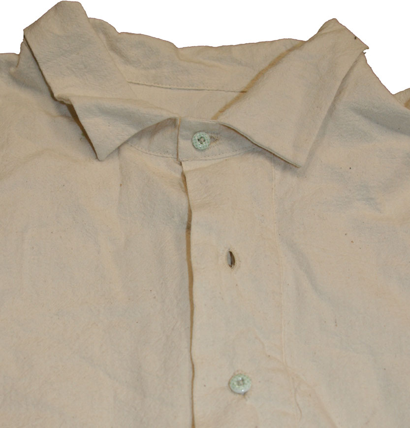 Detail of front placket