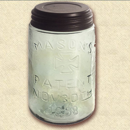 1858 Mason Jar, Pint Size