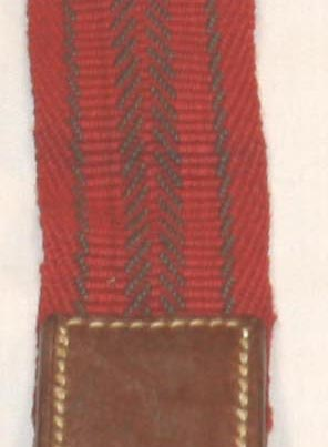Red Brown Variant Elastic Suspender