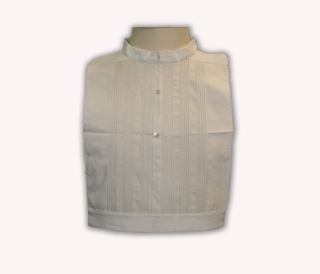 "1850\'s False Shirt Front ""Bib\"""