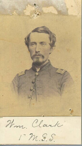 Captain William Clark, 1st Michigan Sharpshooters