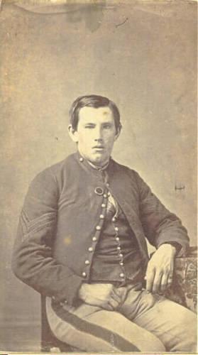 David McVean, Co. B 6th Michican Cavalry