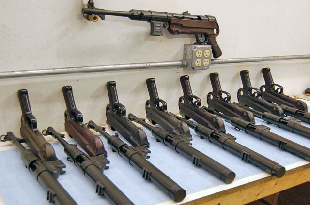 MP 40's in production