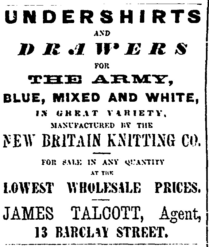 Evening Post May 13th, 1860