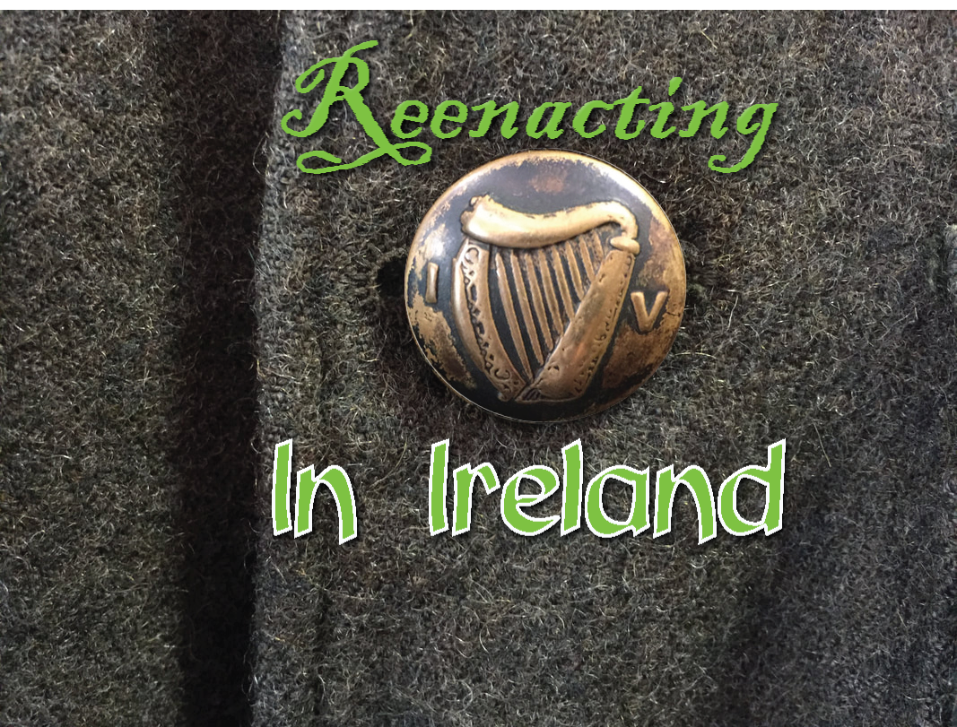 Reenacting in Ireland.