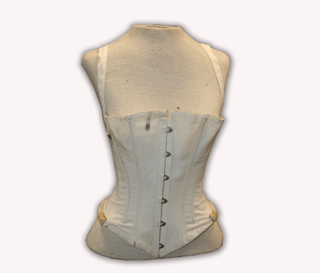 1862 Patent Skirt Supporting Corset